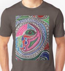 Miscellaneous Coloured Sharpie Design  T-Shirt