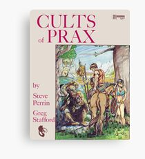 Cults of Prax - Steve Swenston cover Canvas Print