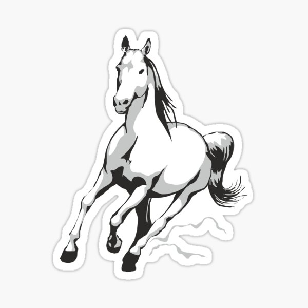 cheval Sticker