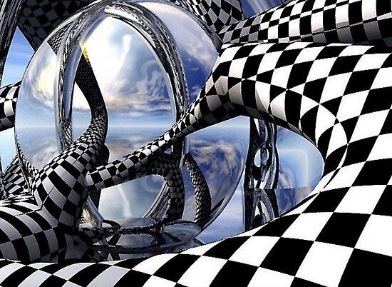 optical art by simbatron