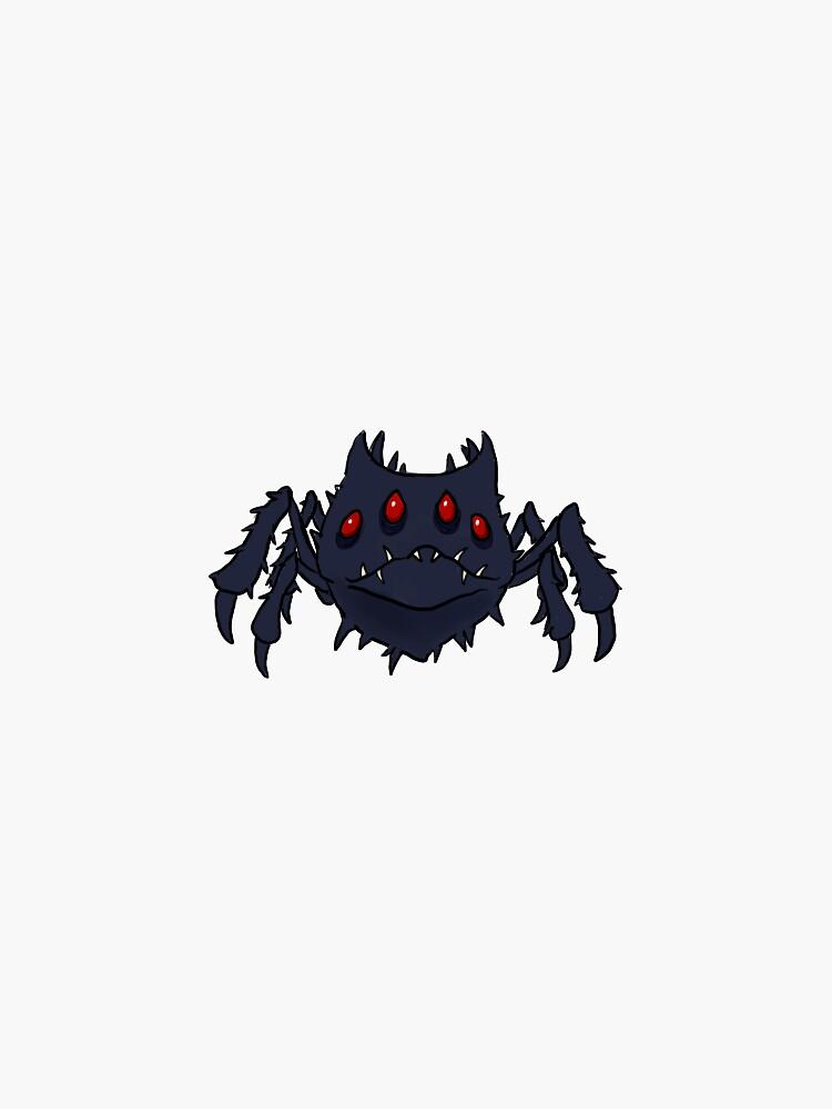 Don't Starve - Spitter Spider by addertwist