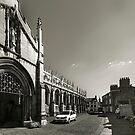 St. James church(B&W) by jasminewang