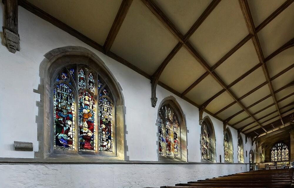 St. James church  windows by jasminewang