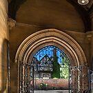 St. James church, at the doorway by jasminewang