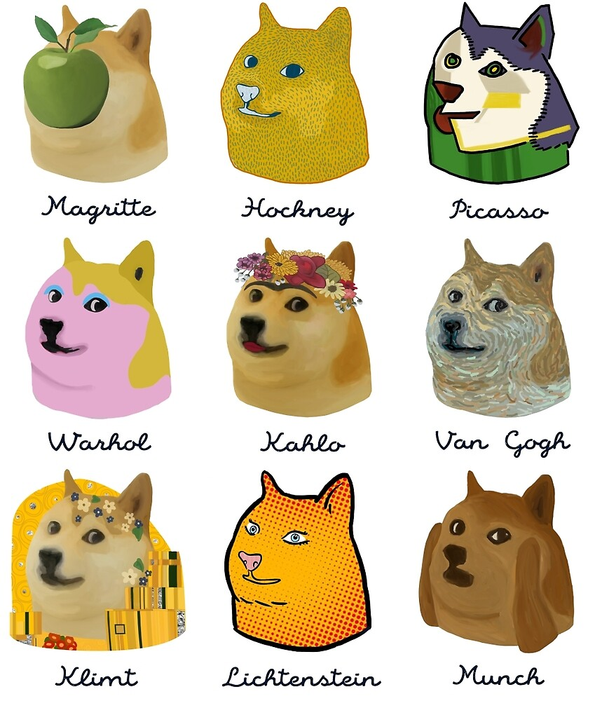 A Brief History of Doge Artists by ballantynero