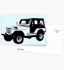 Teen Wolf - Stiles' Jeep Postcards