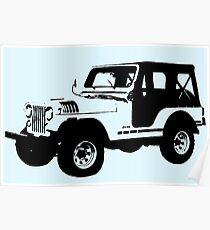 Teen Wolf - Stiles' Jeep Poster