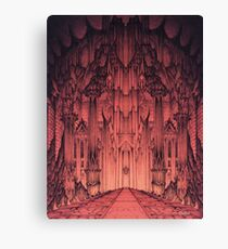 The Gates of Barad Dûr Canvas Print