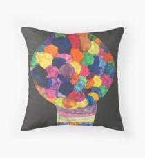 Gum-Ball Machine Throw Pillow