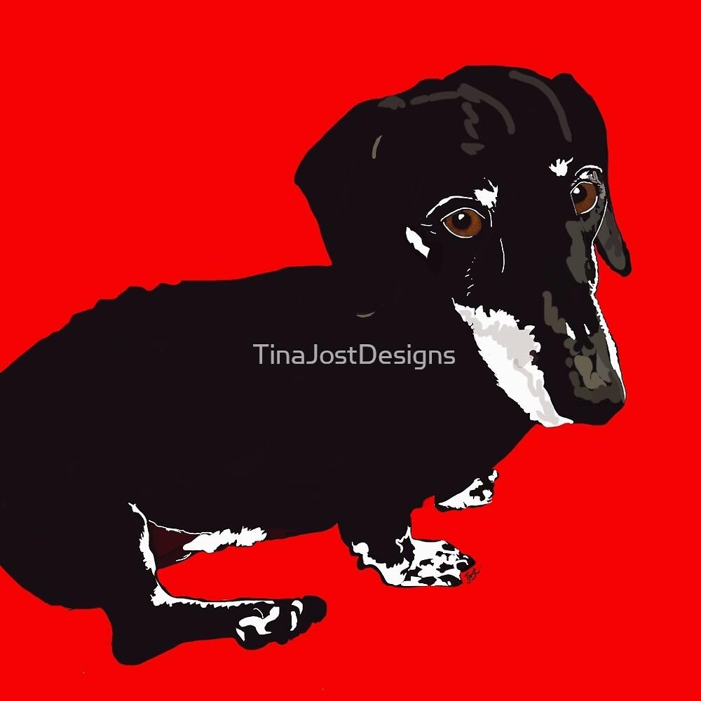 Dachshund Dog by TinaJostDesigns