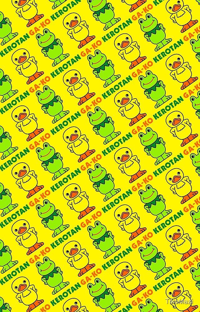 GA-KO Kerotan Design - Yellow Background by TikoMazi