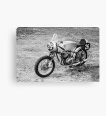 German Classic Racing Motorcycle Canvas Print