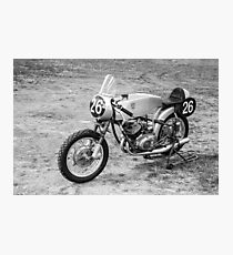 German Classic Racing Motorcycle Photographic Print