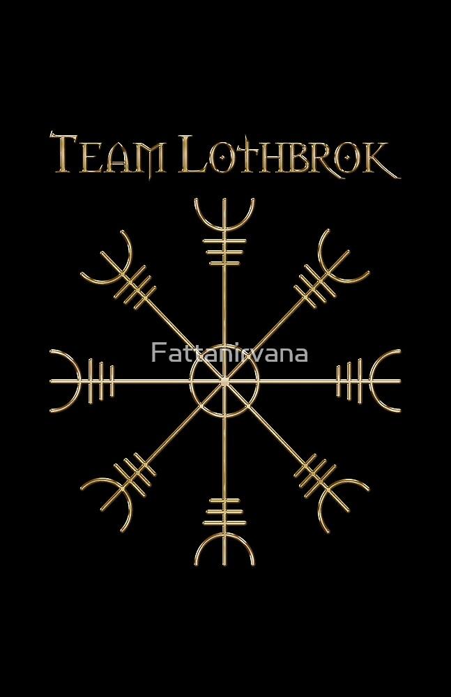 Team Lothbrok Gold Sign by Fattanirvana