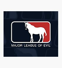 Major League of Evil Photographic Print