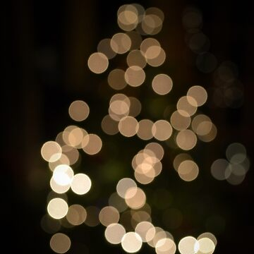 Christmas Tree Bokeh by LiamOR