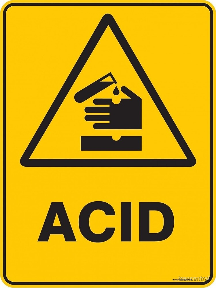 Caution Acid!! by trancentral