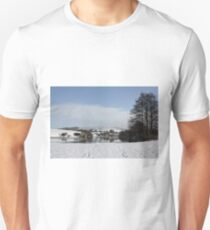 Footsteps in the snow Unisex T-Shirt