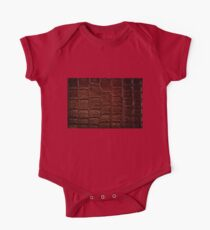 Dark brown snake leather cloth Kids Clothes