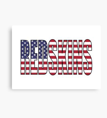 Redskins Canvas Print