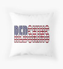 Redskins Throw Pillow