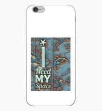 I need my space and greens iPhone Case