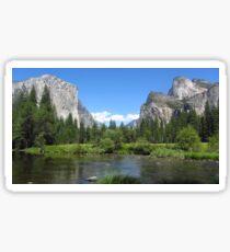 Yosemite National Park Sticker Sticker