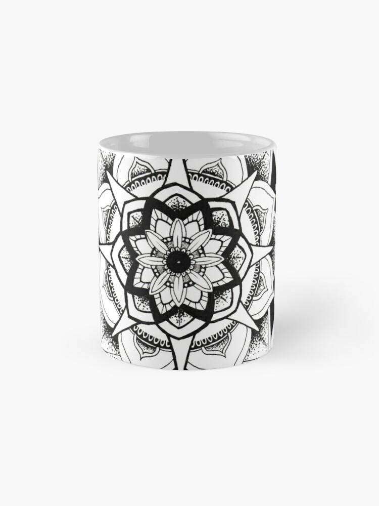 Alternative Ansicht von Mandala Tasse