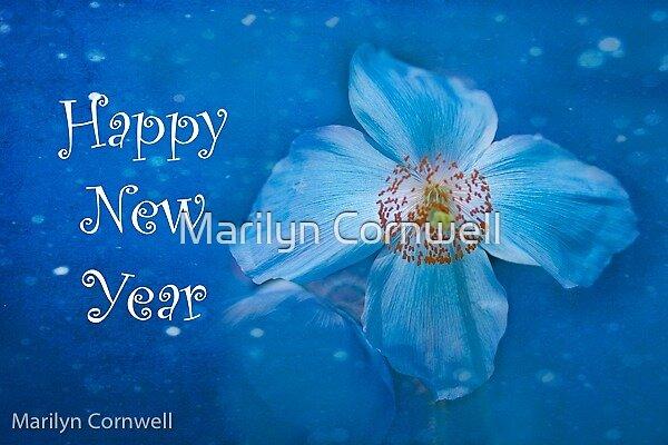 Happy New Year by Marilyn Cornwell