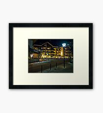 Filzmoos Winter Framed Print