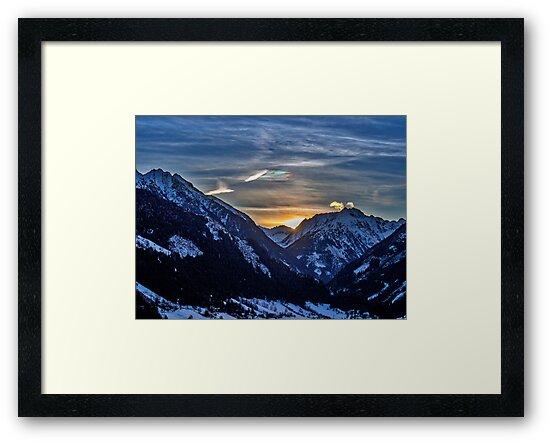Rohrmoos Dawn by mlphoto