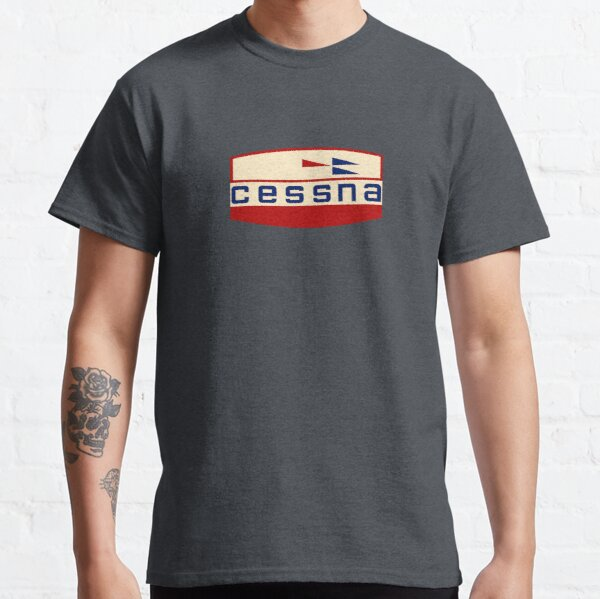 Retro Cessna Logo Classic T-Shirt