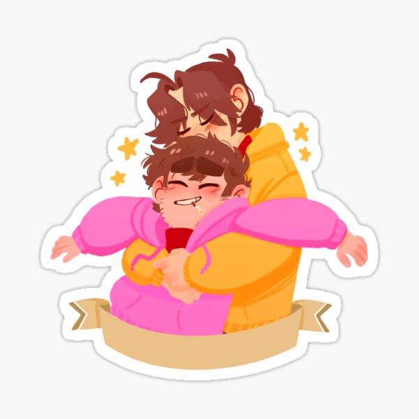 pink/yellow Sticker