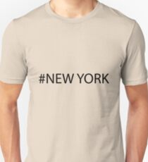 #New York Black Unisex T-Shirt