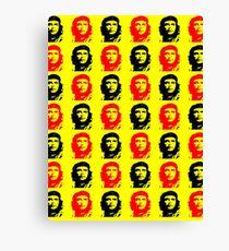 Che Guevara Pop Art Revolution Canvas Print