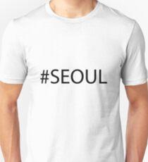 #Seoul Black T-Shirt