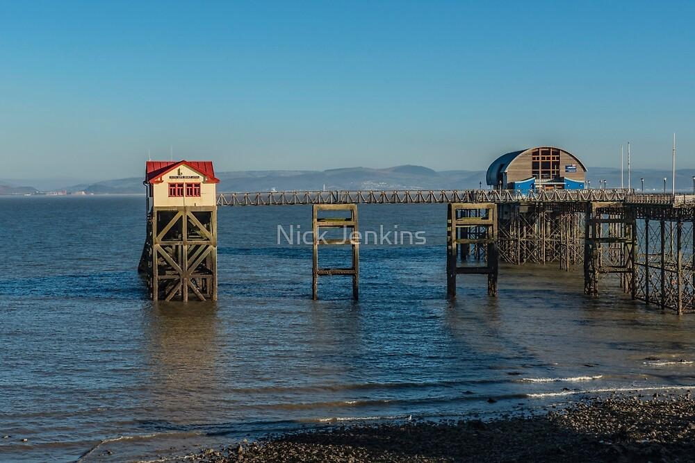 Lifeboat Stations Mumbles Swansea Bay Wales by Nick Jenkins