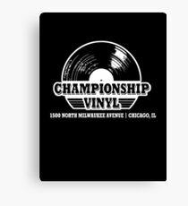 High Fidelity Championship Vinyl Canvas Print