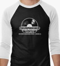 High Fidelity Championship Vinyl Men's Baseball ¾ T-Shirt