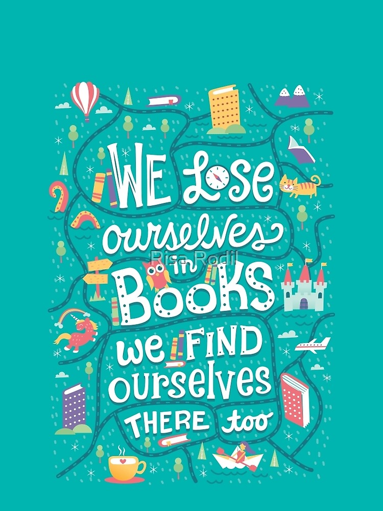 Lose ourselves in books by risarodil
