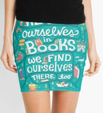 Lose ourselves in books Mini Skirt