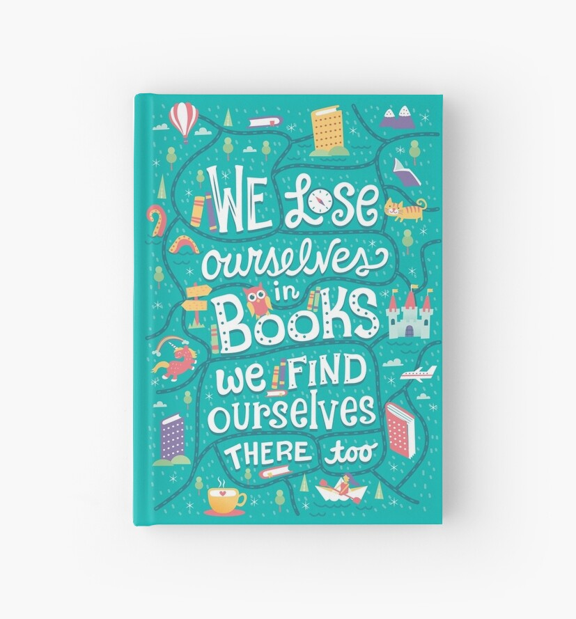 Lose ourselves in books by Risa Rodil