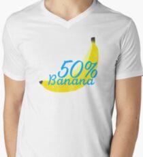 50% banana Men's V-Neck T-Shirt