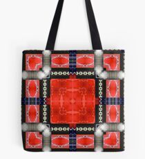 Red SUV Tote Bag