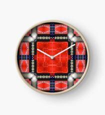 Red SUV Clock