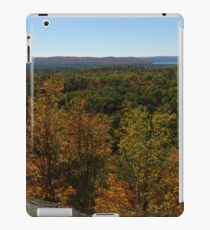 The Scenic Overlook - Algonquin in the Fall iPad Case/Skin