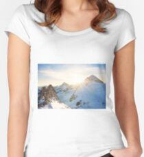 Alps Women's Fitted Scoop T-Shirt