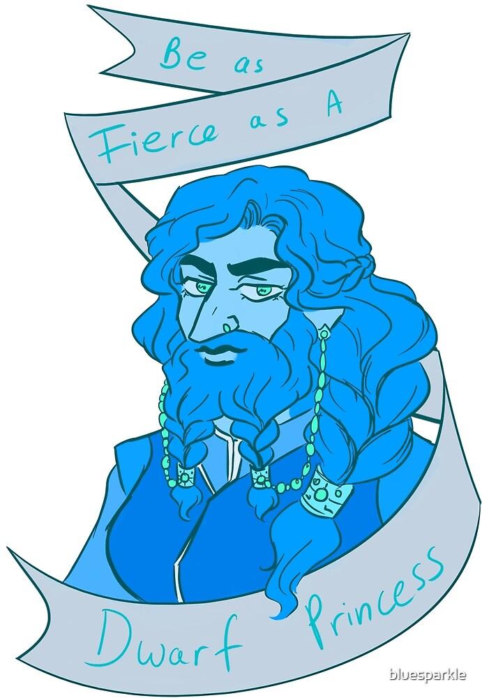 Dwarf Princess (Blue) by bluesparkle