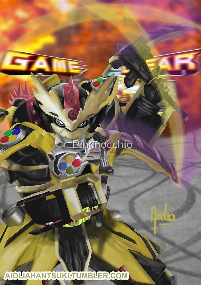Kamen Rider Lazer by Pinknocchio