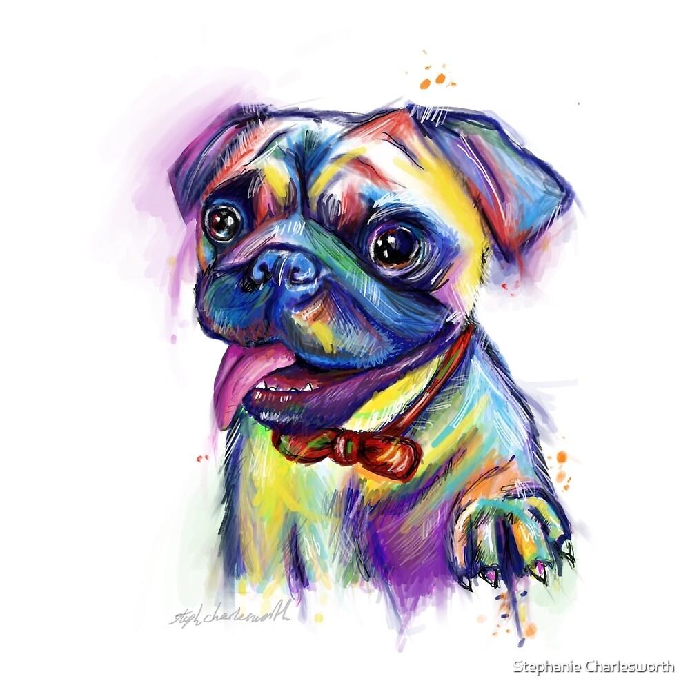 Mr pug by Stephanie Charlesworth